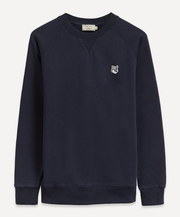 Maison Kitsuné - Grey Fox Head Patch Sweatshirt