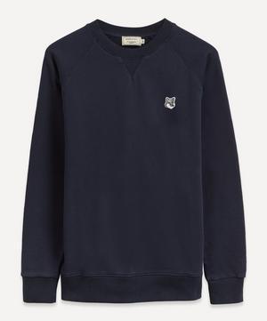Grey Fox Head Patch Sweatshirt