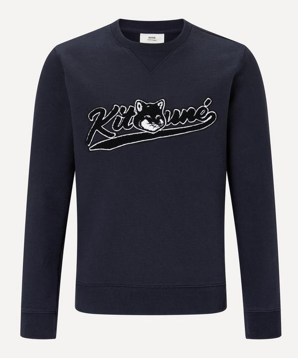 Maison Kitsuné - Varsity Kitsuné Patch Sweatshirt