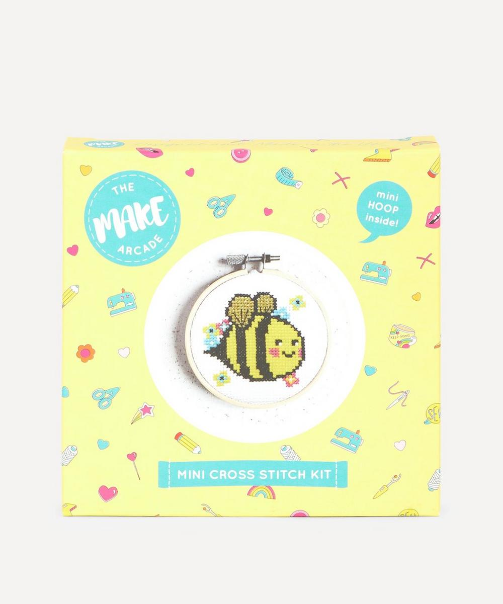 The Make Arcade - Bella Bee Mini Cross Stitch Kit