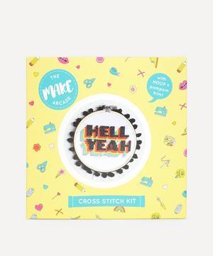 Hell Yeah Cross Stitch Kit
