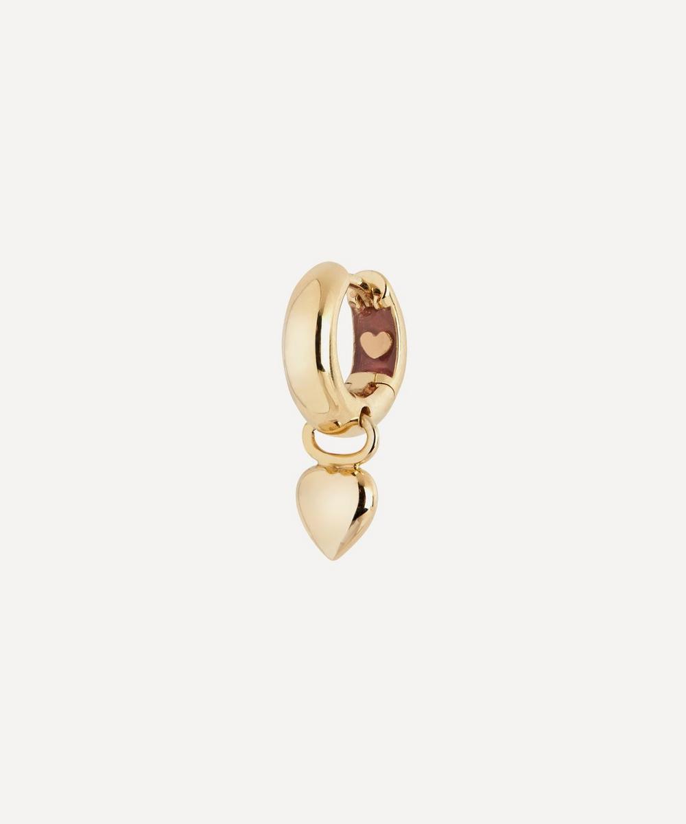 Maria Black - Gold-Plated Aya Huggie Hoop Earring