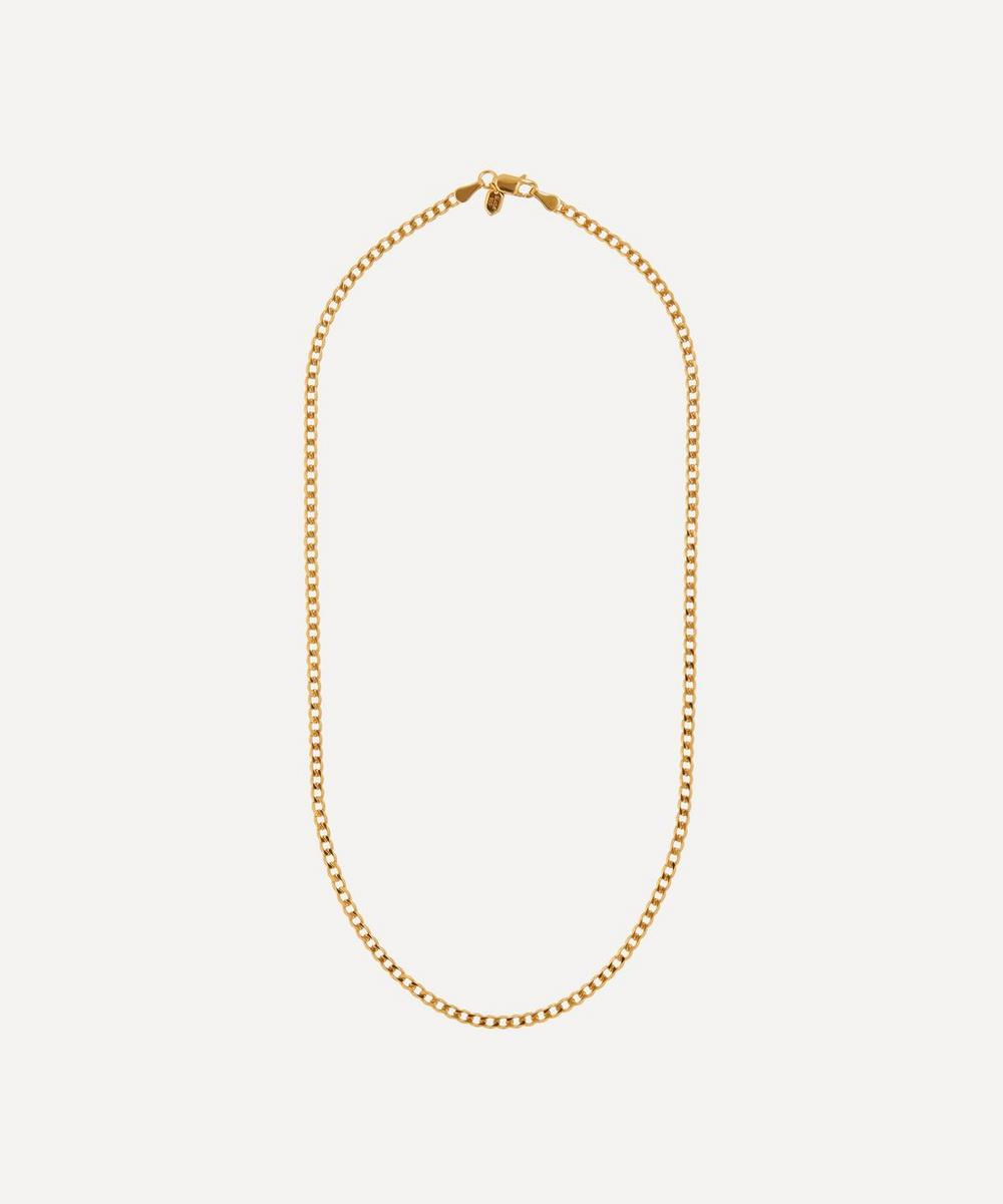 Maria Black - Gold-Plated Saffi Chain Necklace