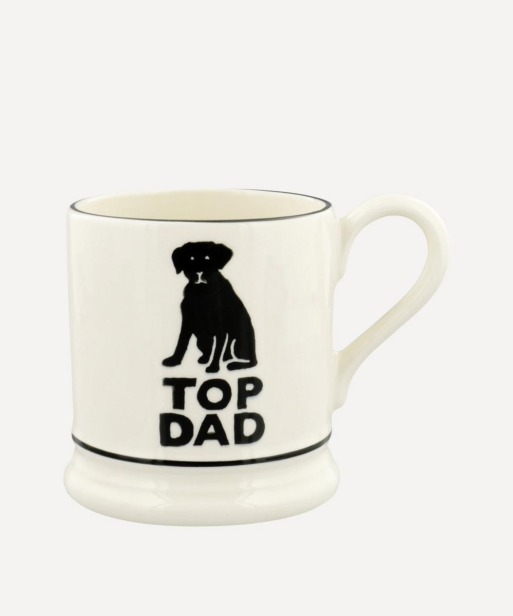 Emma Bridgewater - Bright Mugs Top Dad Half-Pint Mug