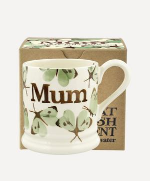 Green Cabbage White Butterfly Mum Boxed Half-Pint Mug
