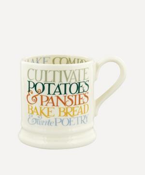 Rainbow Toast All My Good Intentions Half-Pint Mug