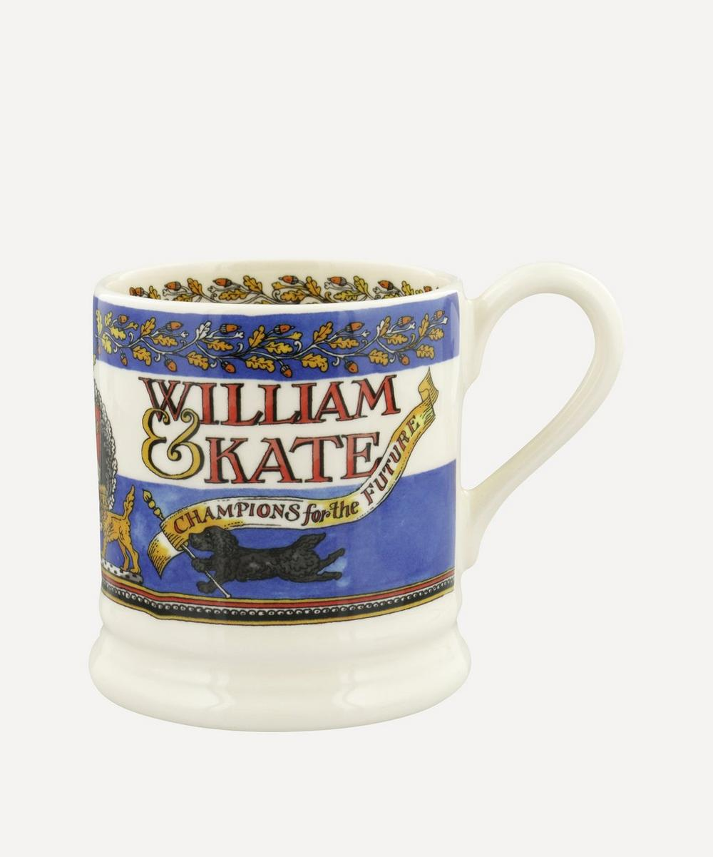 Emma Bridgewater - William and Kate 10th Anniversary Half-Pint Mug
