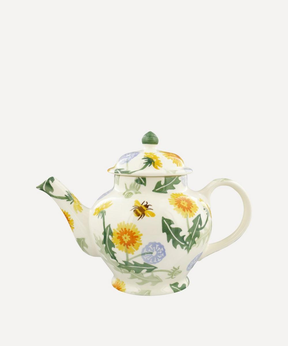 Emma Bridgewater - Dandelion Three-Mug Teapot