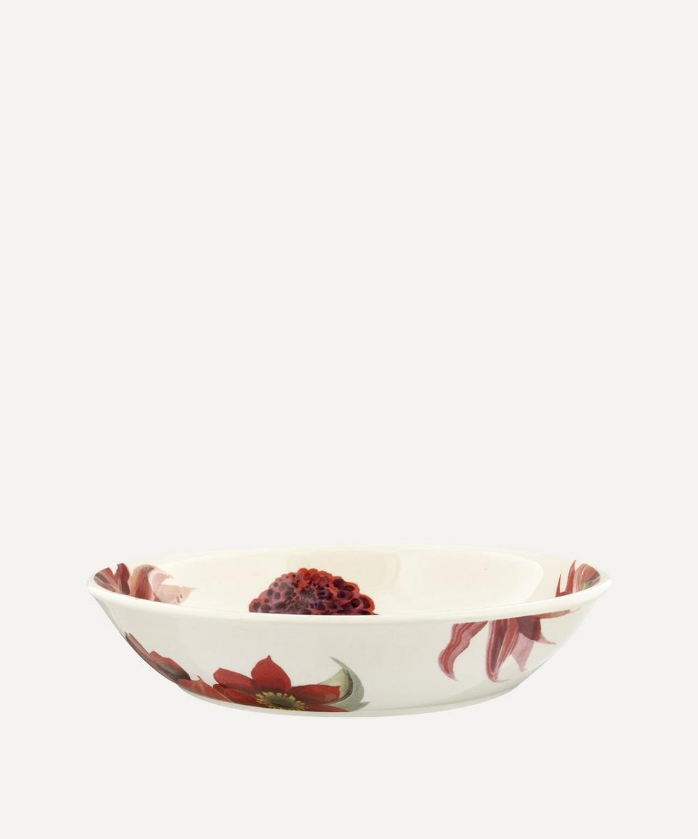 Emma Bridgewater - Flowers Red and Pink Dahlias Medium Pasta Bowl