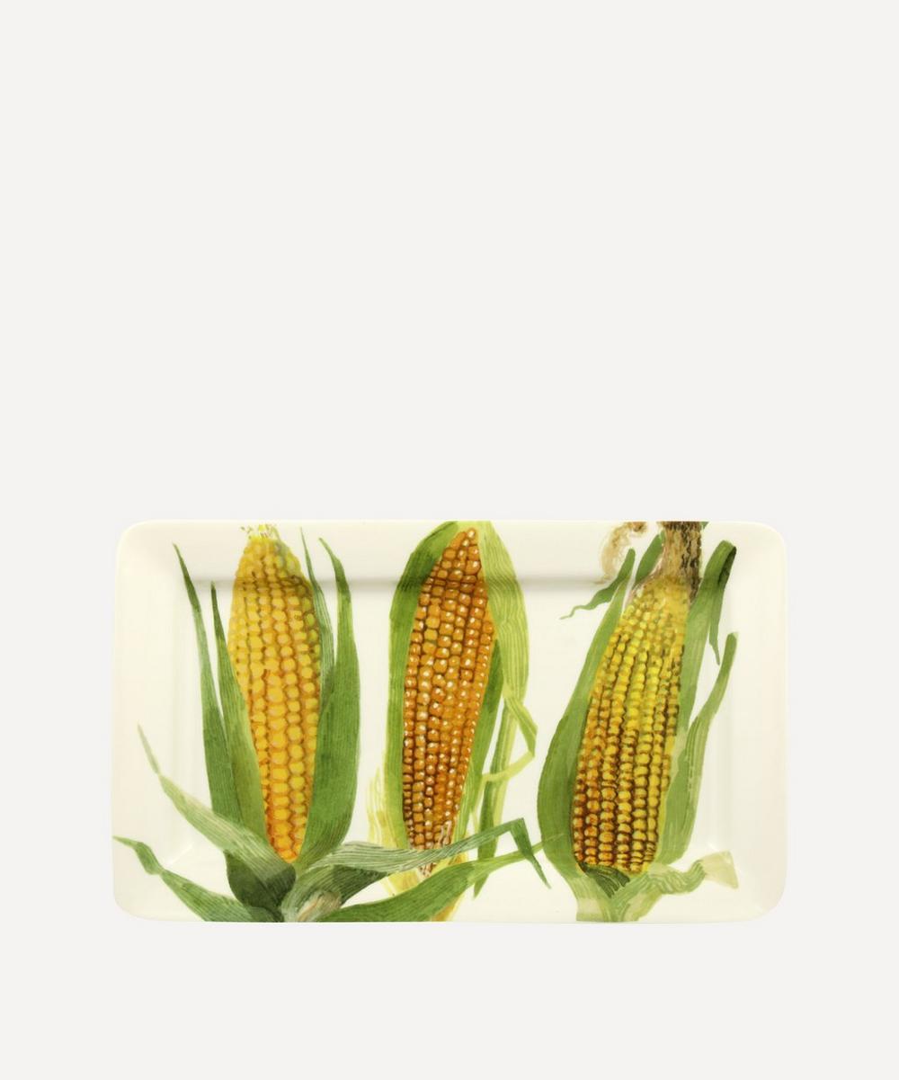 Emma Bridgewater - Vegetable Garden Sweetcorn Medium Oblong Plate