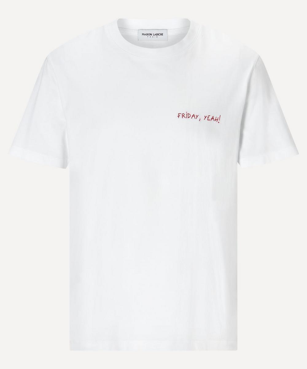Maison Labiche - Friday! Yeah Cotton T-Shirt