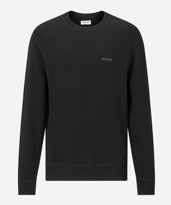 Maison Labiche - Amour Cotton Sweatshirt