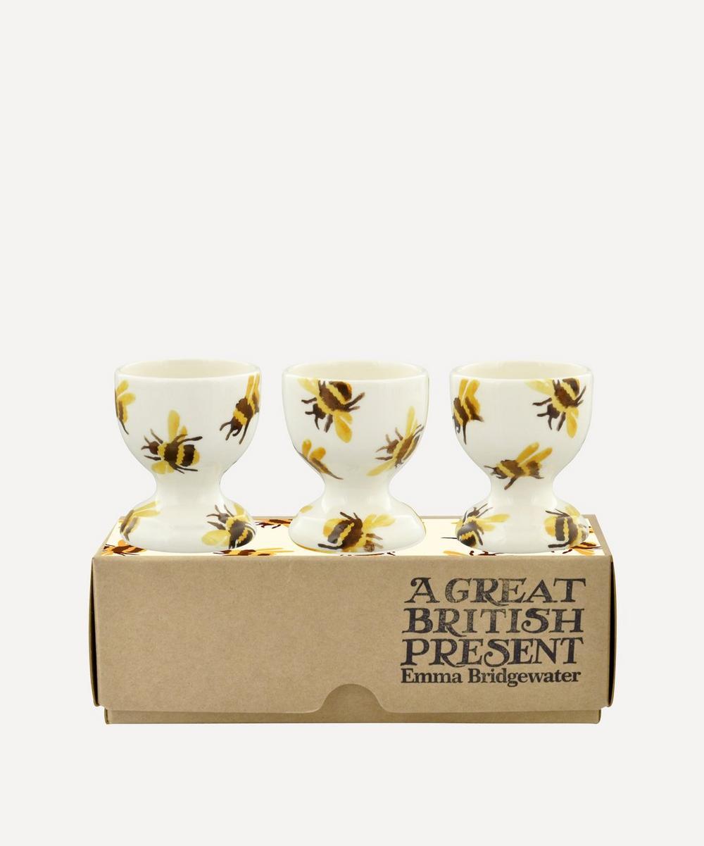 Emma Bridgewater - Bumblebee Boxed Egg Cups Set of Three
