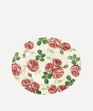 Pink Roses Medium Oval Platter