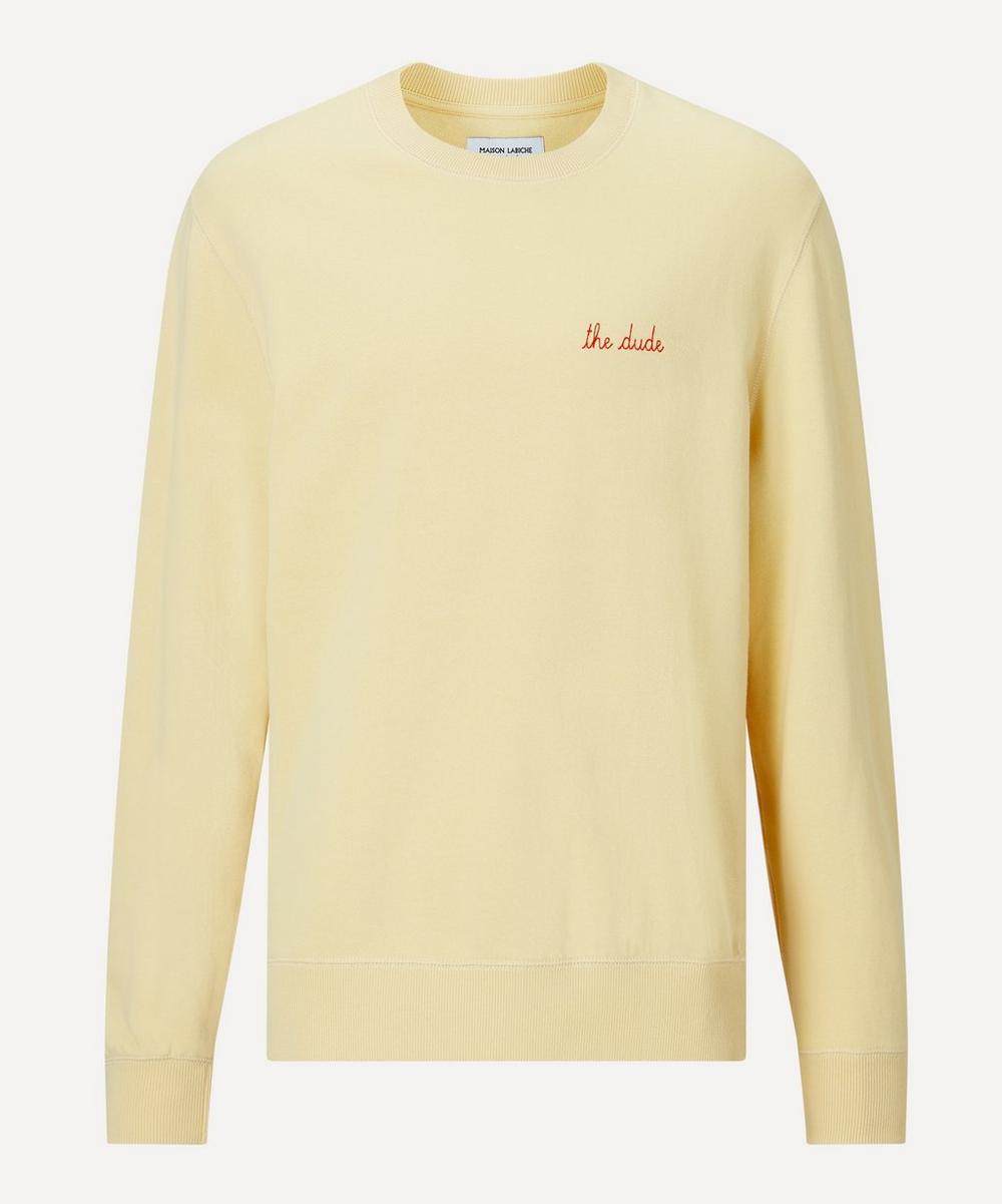 Maison Labiche - The Dude Cotton Sweatshirt