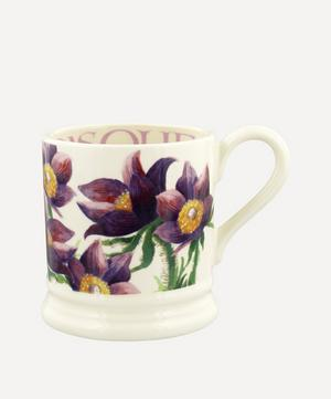 Flowers Pasque Flower Half-Pint Mug