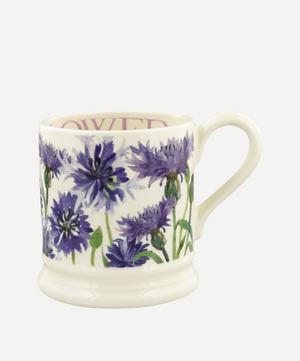 Flowers Cornflower Half-Pint Mug