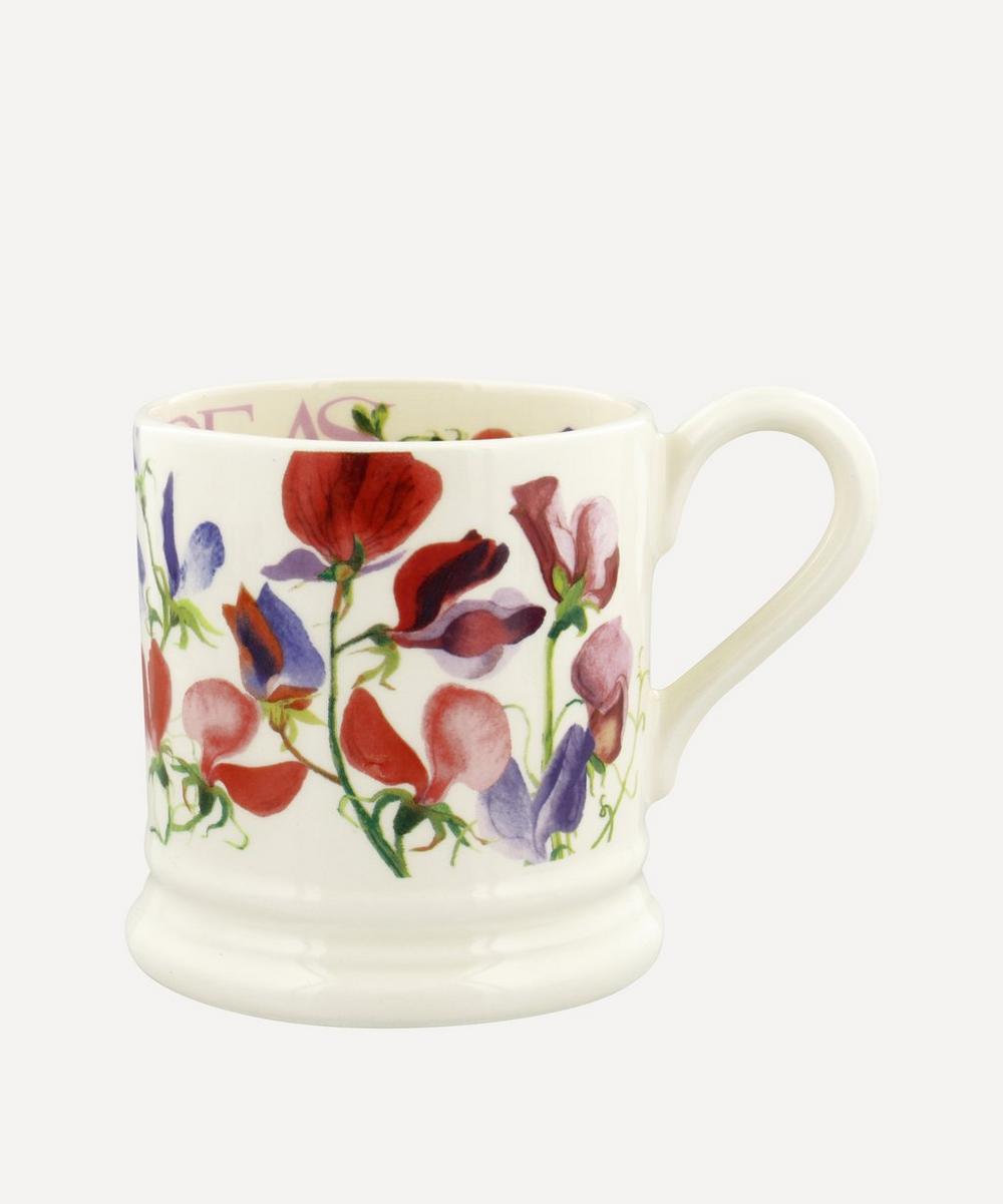 Emma Bridgewater - Flowers Sweet Pea Half-Pint Mug