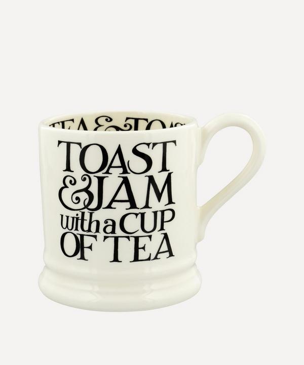 Emma Bridgewater - Black Toast and Jam Half-Pint Mug