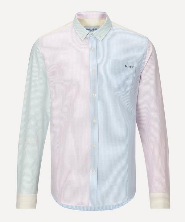 Maison Labiche - The Dude Patchwork Cotton Shirt