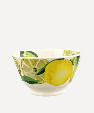 Vegetable Garden Lemons Small Old Bowl