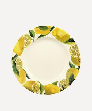 Vegetable Garden Lemons 10.5-Inch Plate