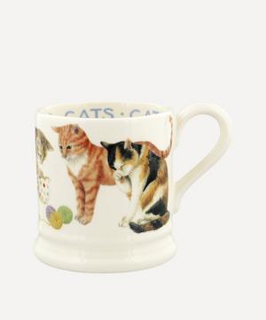 Cats All Over Half-Pint Mug