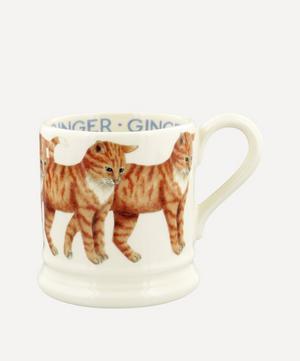 Ginger Cat Half-Pint Mug