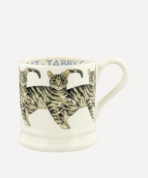 Tabby Cat Half-Pint Mug