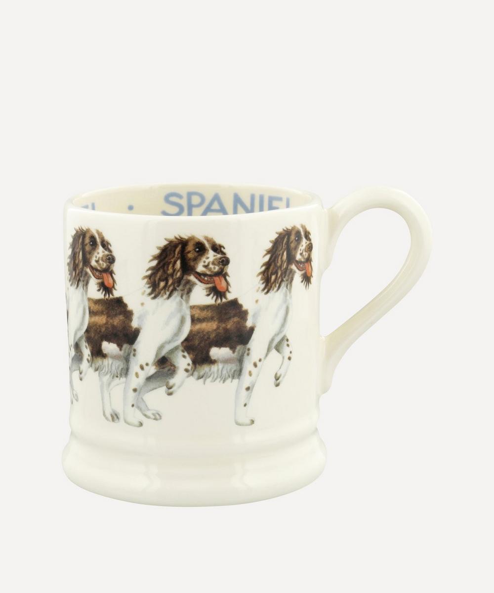 Emma Bridgewater - Dogs Brown and Cream Spaniel Half-Pint Mug