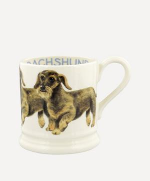Dogs Wire Haired Dachshund Half-Pint Mug