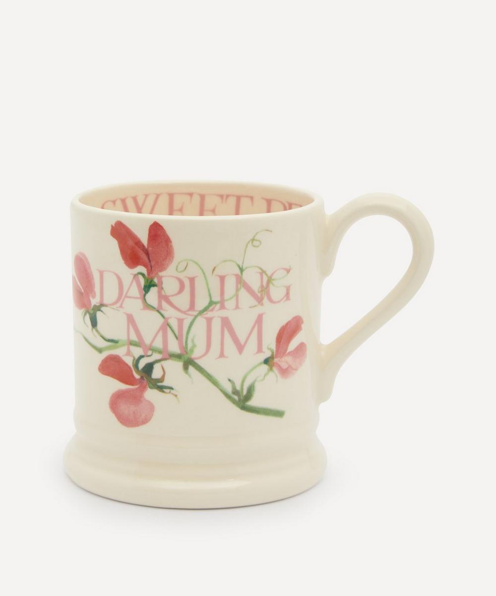 Emma Bridgewater - Sweet Pea Darling Mum Half-Pint Mug