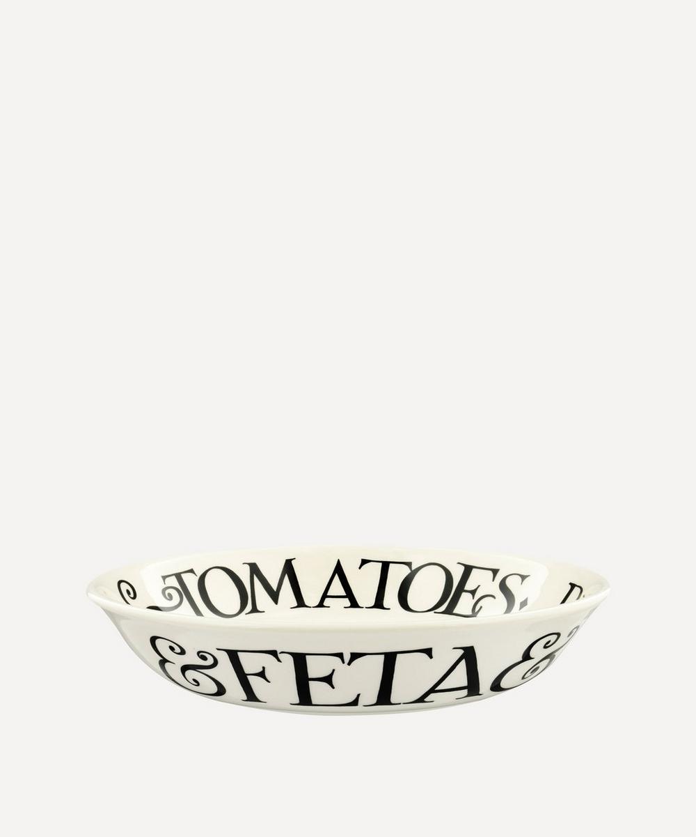 Emma Bridgewater - Black Toast Tomato Salad Small Pasta Bowl