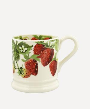 Vegetable Garden Strawberries Half-Pint Mug