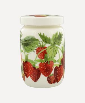 Vegetable Garden Strawberries Jam Jar with Lid