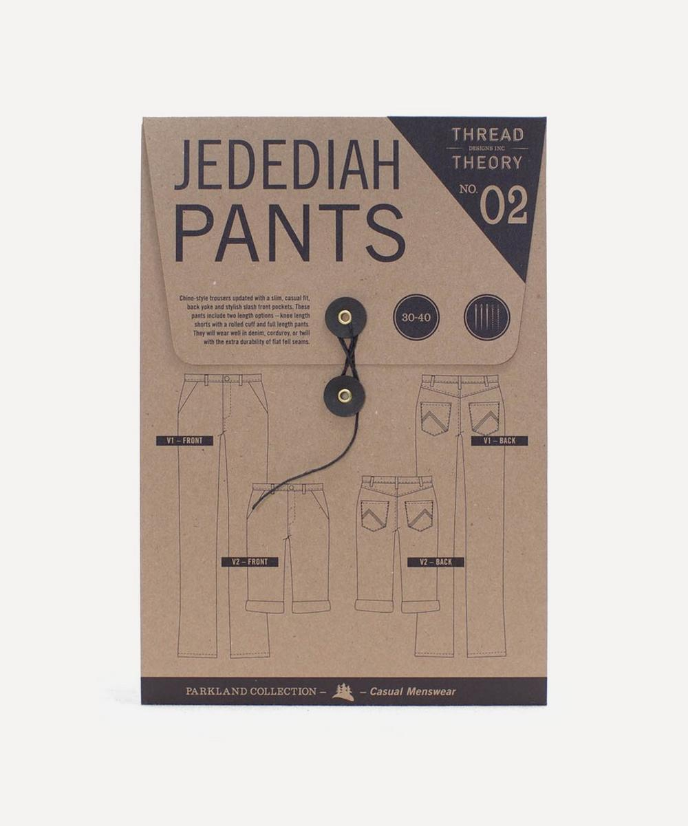 Thread Theory - Jedediah Pants Sewing Pattern