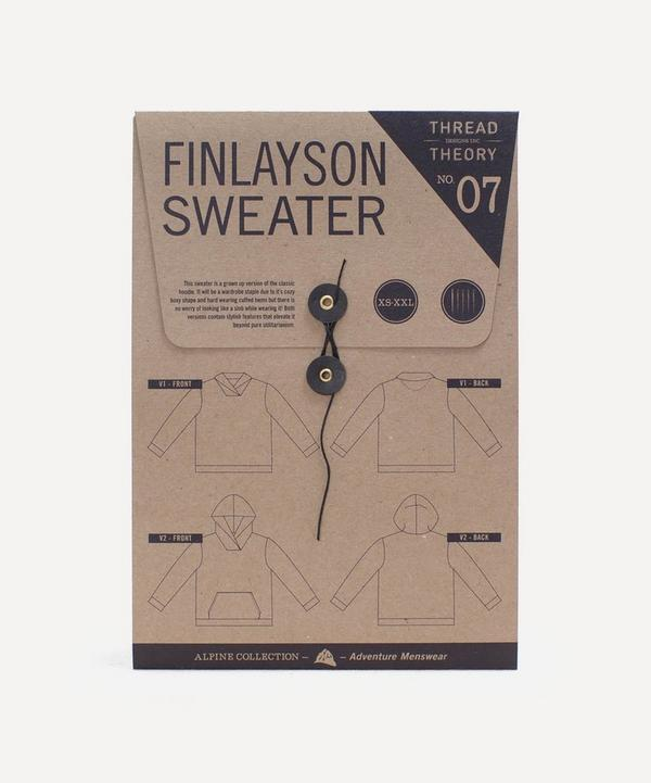 Thread Theory - Finlayson Sweater Sewing Pattern