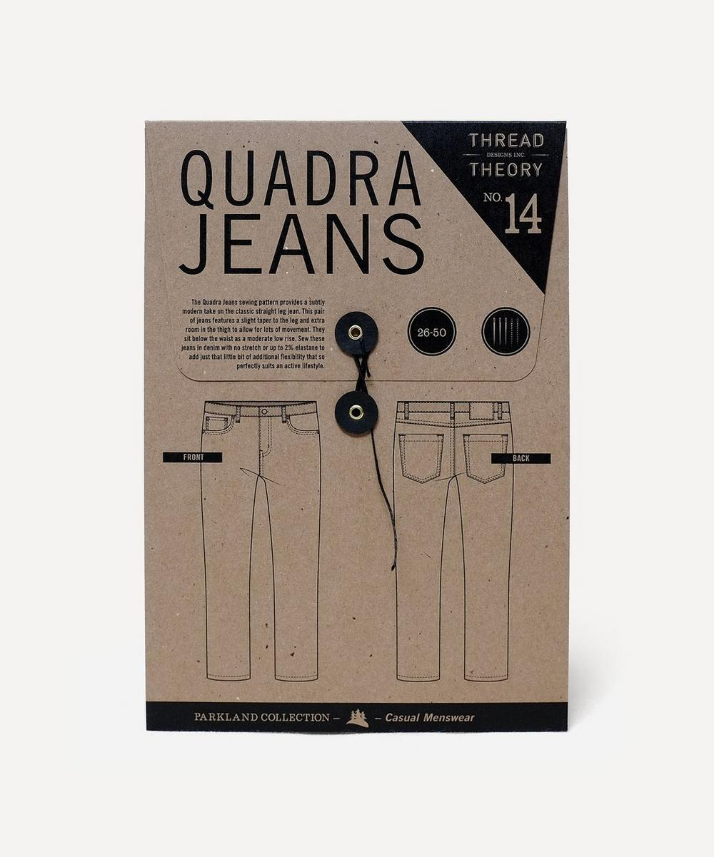 Thread Theory - Quadra Jeans Sewing Pattern