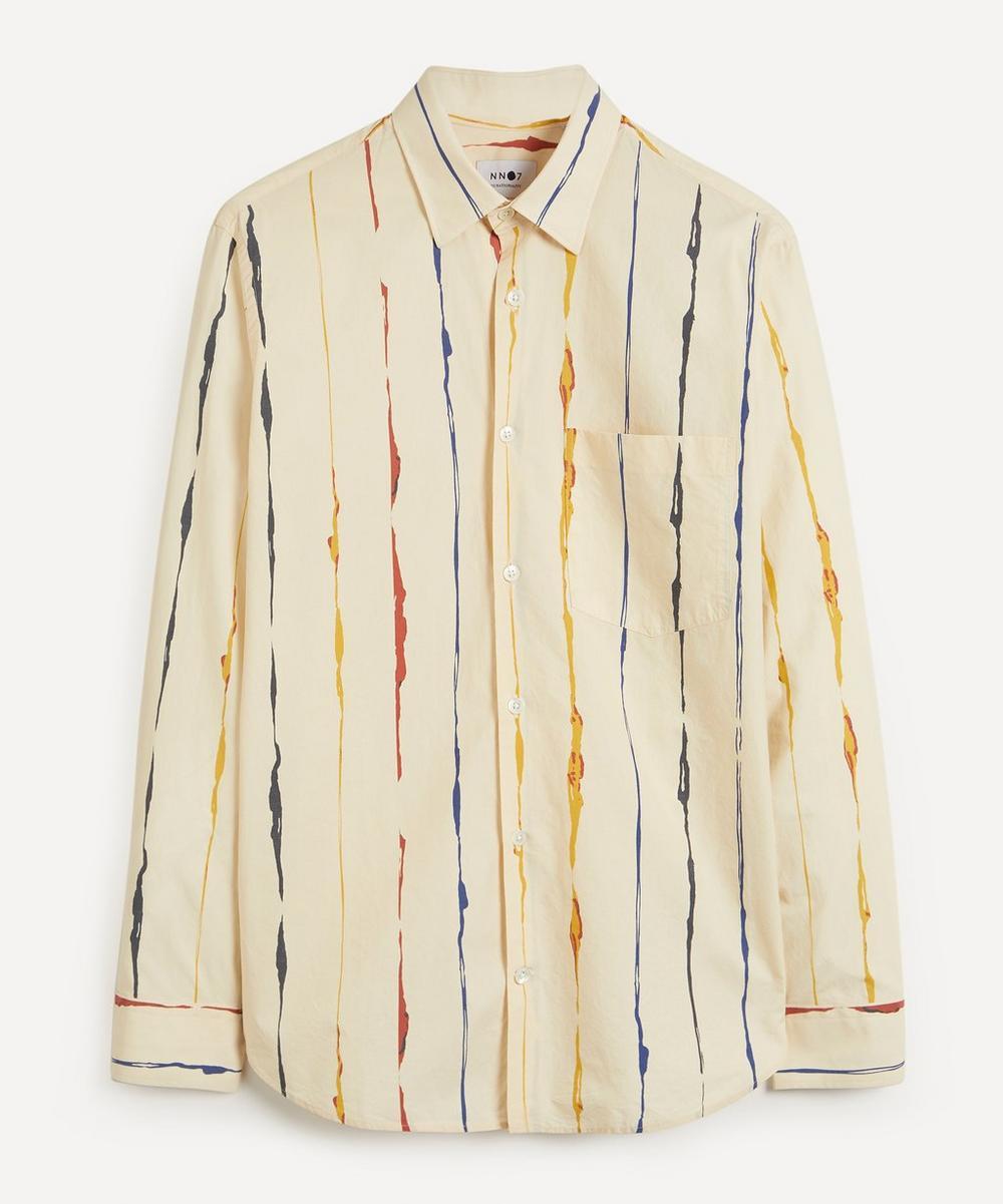 NN07 - Errico 5218 Lyocell-Linen Shirt