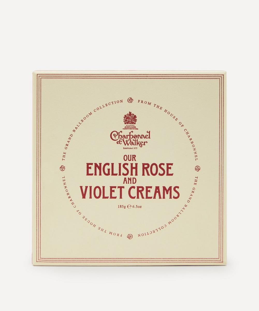 Charbonnel et Walker - English Rose and Violet Creams Selection Box 185gEnglish Rose and Violet Creams Selection Box 185g