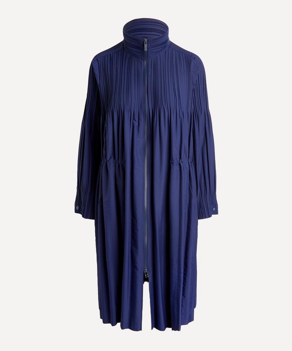 Pleats Please Issey Miyake - Jaunty Coat