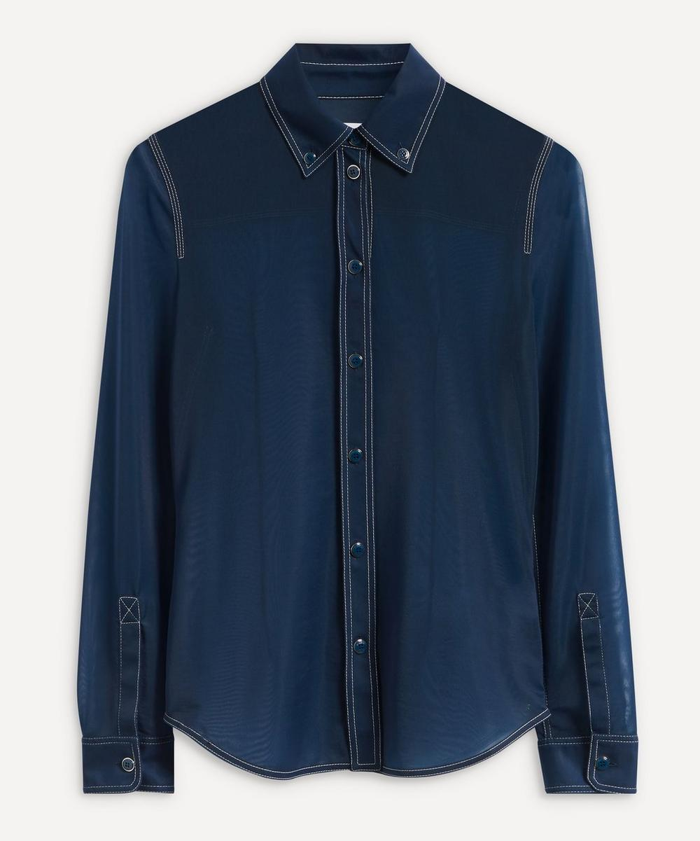 Burberry - Sheer Stretch Jersey Shirt