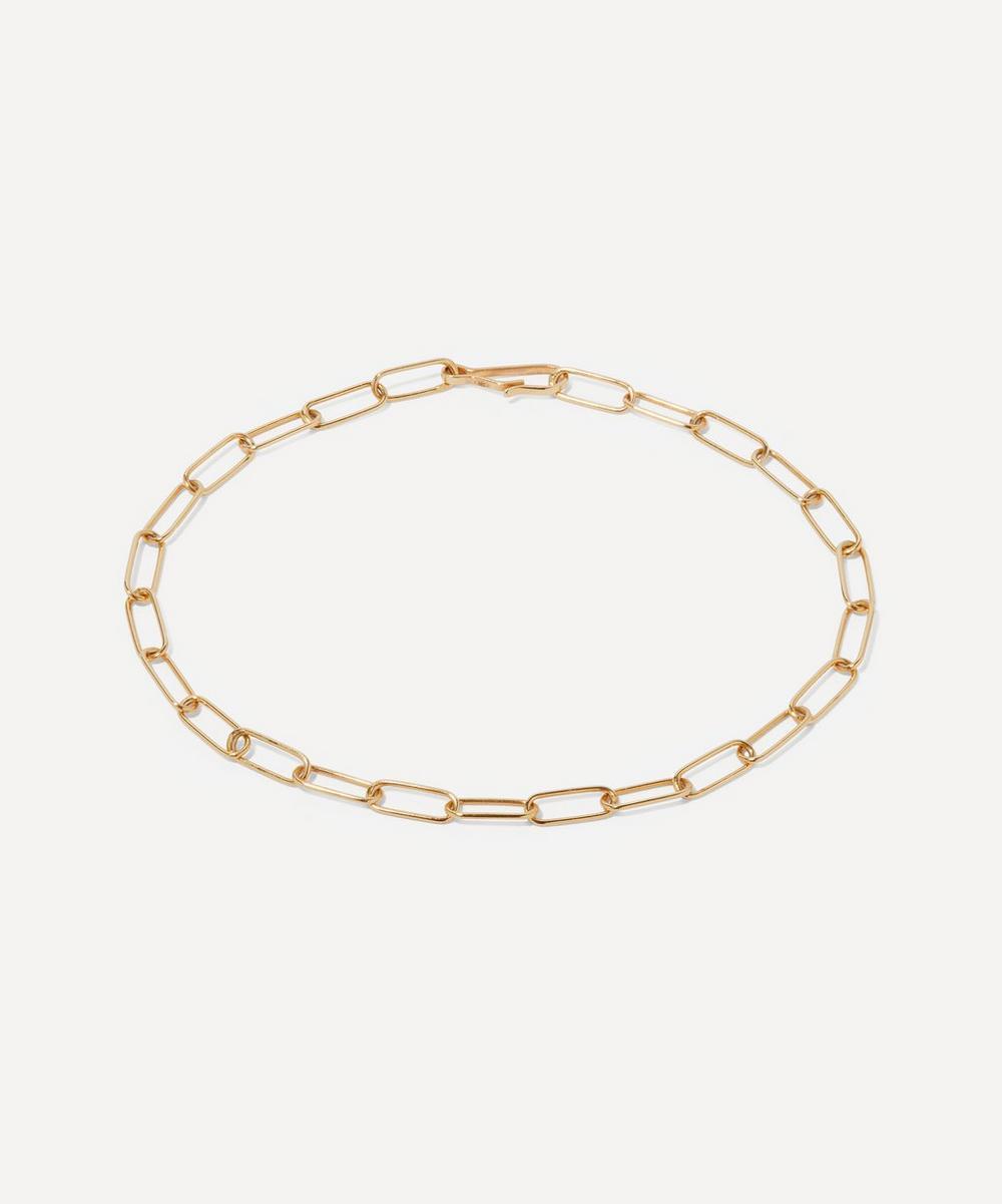 Annoushka - 14ct Gold Mini Cable Chain Large Bracelet