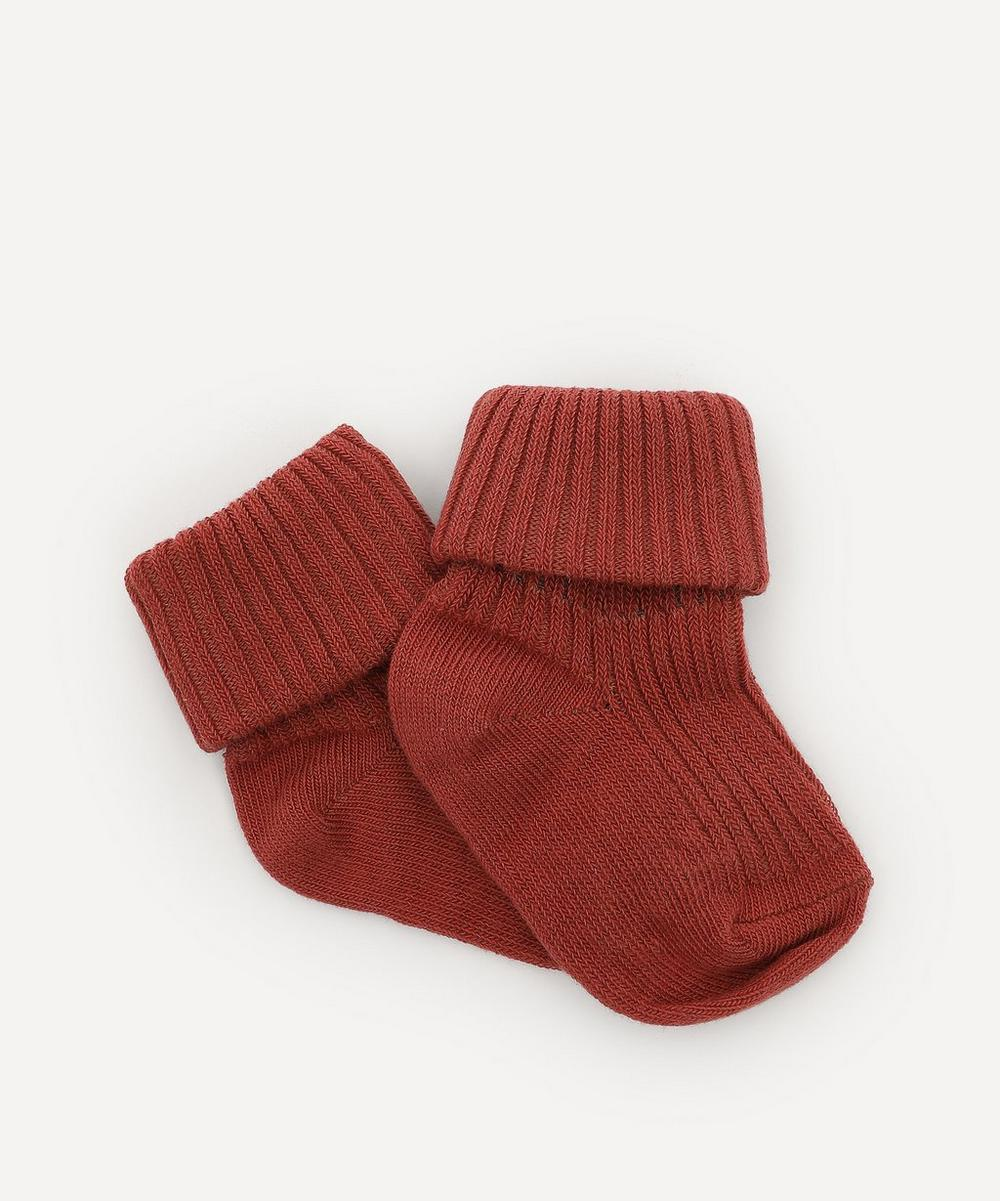 mp Denmark - Cotton Rib Baby Socks 0-2 Years