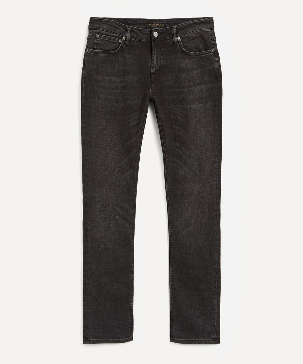 Nudie Jeans - Skinny Lin Worn Black Jeans