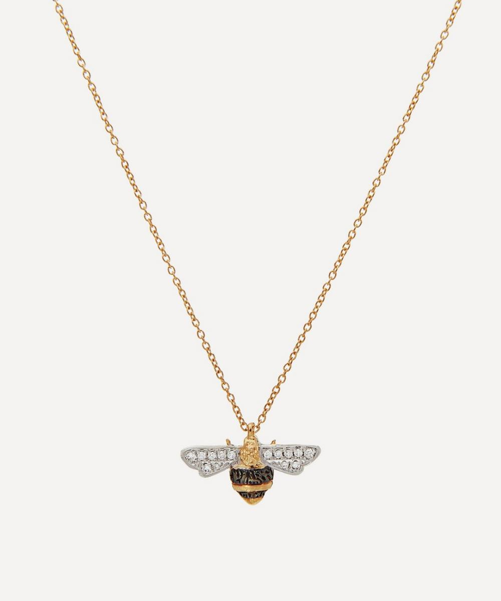 Annoushka - 18ct Gold Love Diamonds Diamond Bee Pendant Necklace
