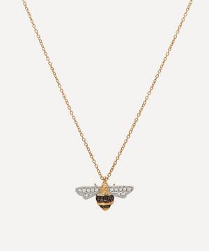 18ct Gold Love Diamonds Diamond Bee Pendant Necklace
