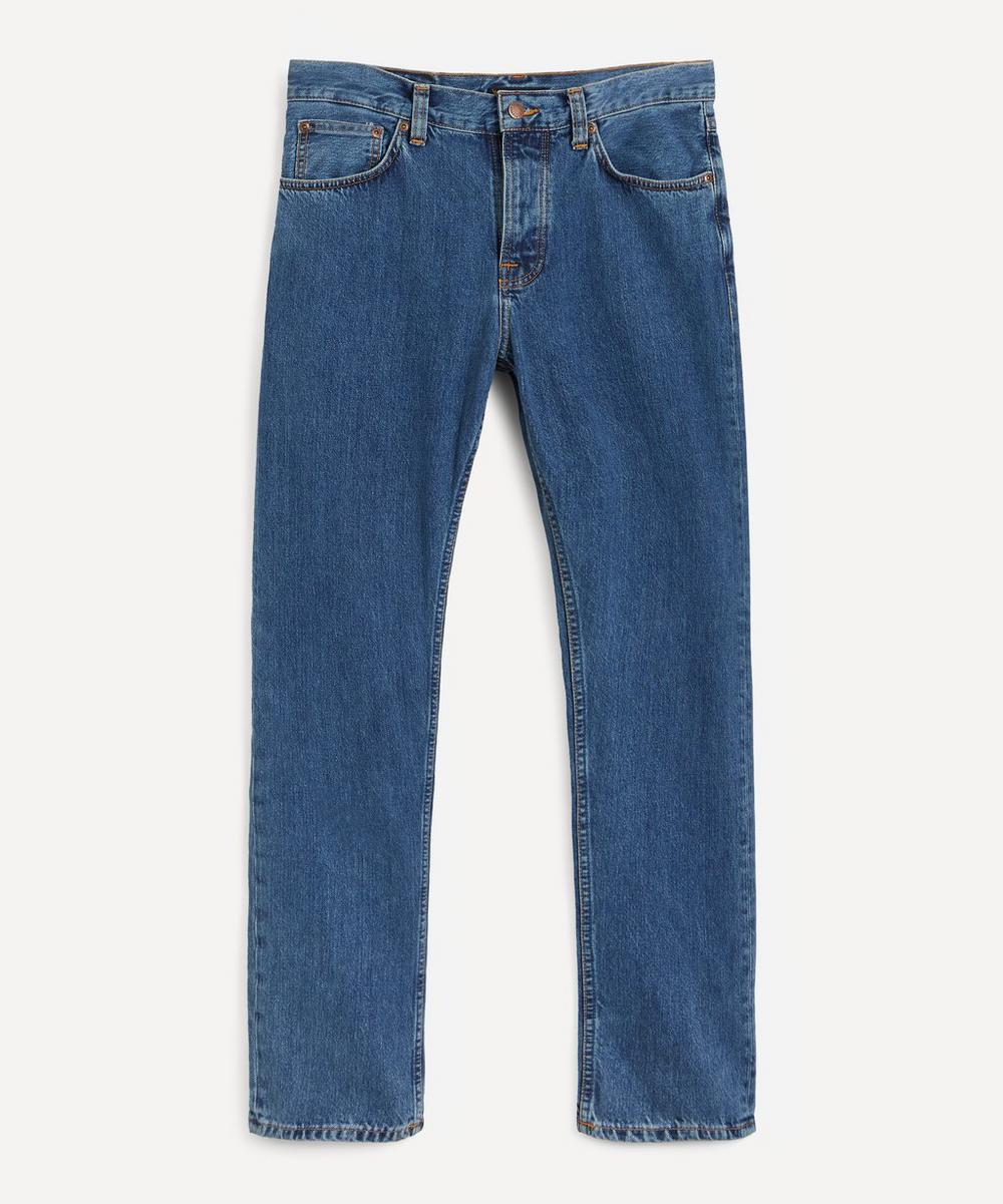 Nudie Jeans - Steady Eddie II Friendly Blue Jeans image number 0