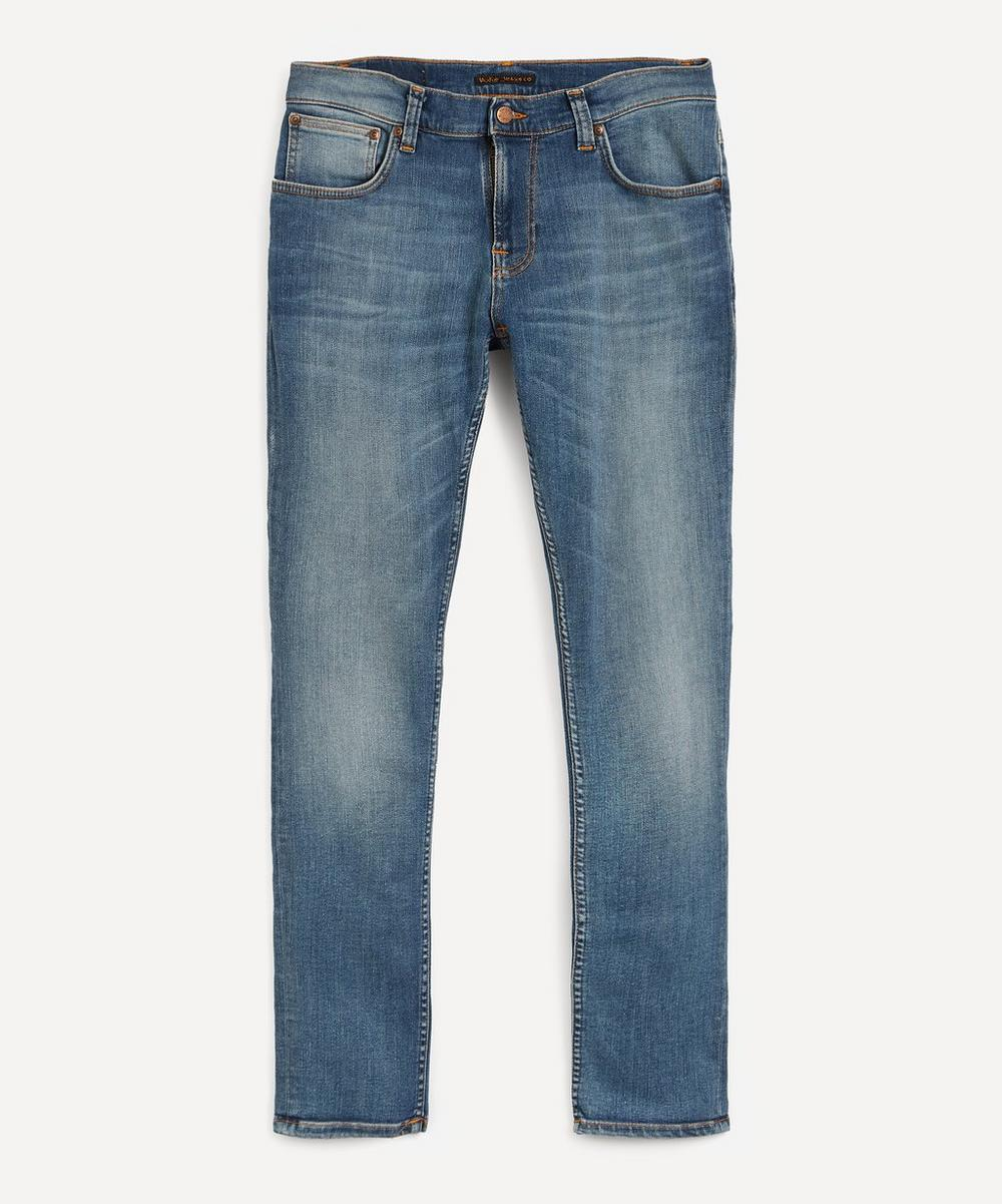 Nudie Jeans - Tight Terry Steel Navy Jeans
