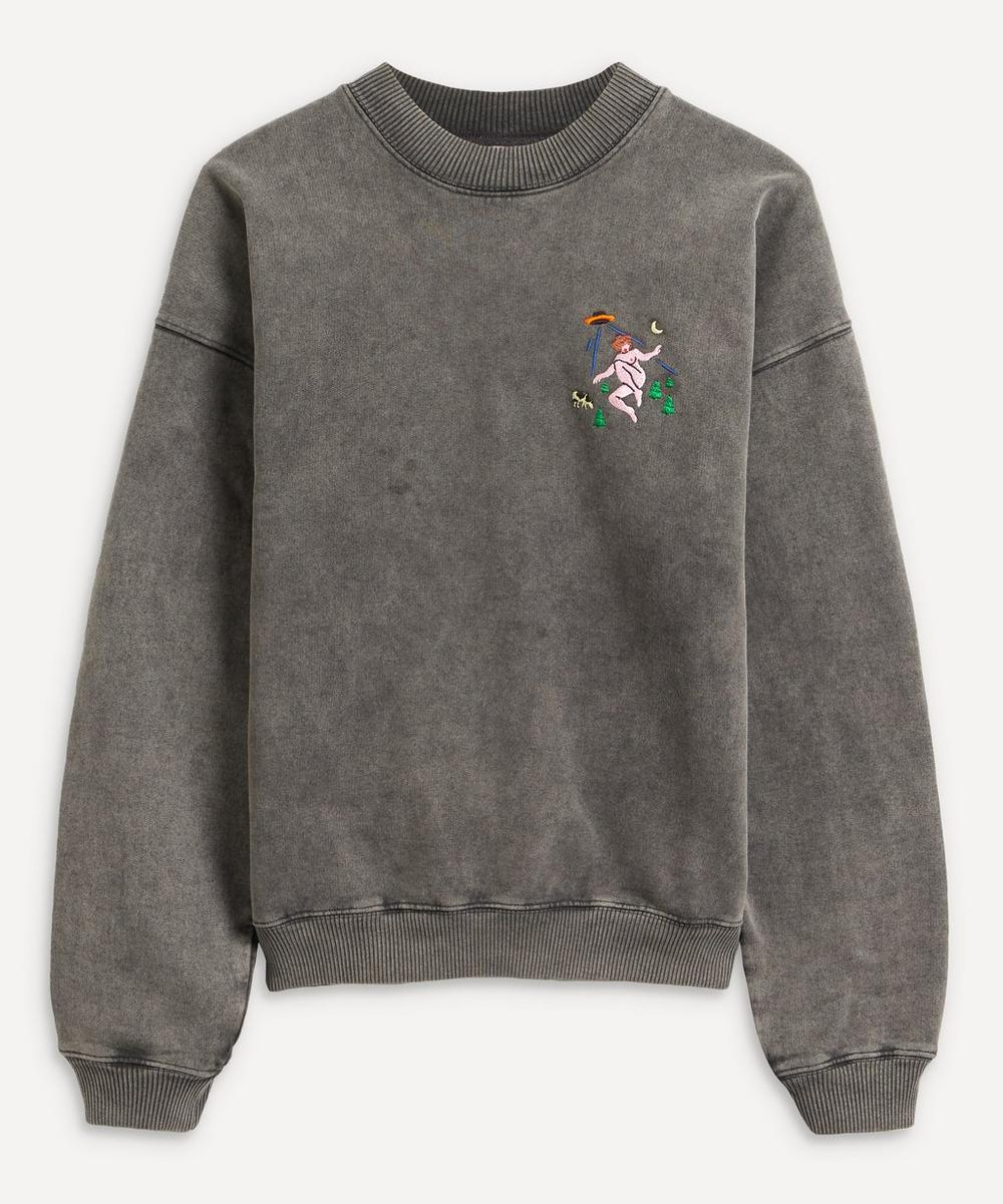 Carne Bollente - Extra-Terrestrial Bukkake Embroidered Sweatshirt